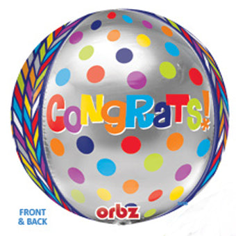 Congratulations - Dots Geometric