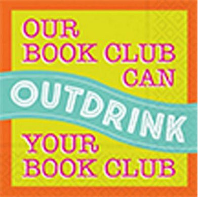 Beverage napking - Our book club