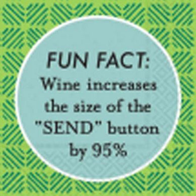 Beverage napking - Fun fact: