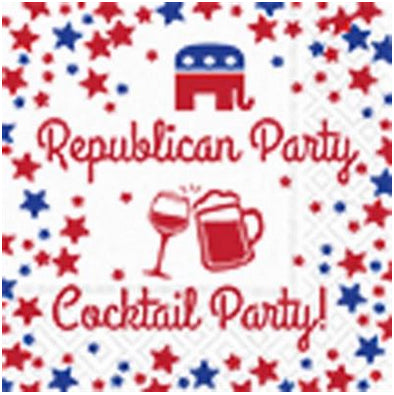 Beverage napking - Republican party