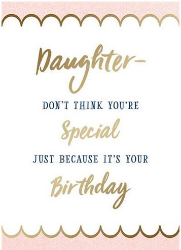 Birthday - Daughter