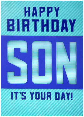 Birthday - Son