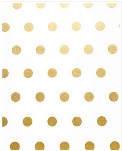 Gold Hot Spot - Tissue paper