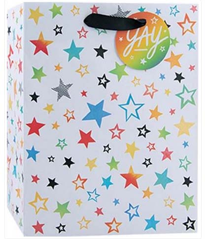 Rainbow Stars - Medium Tote bag