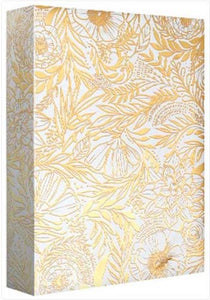 Golden Floral - Wrapping paper