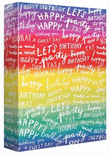Rainbow Happy Birthday - Wrapping paper