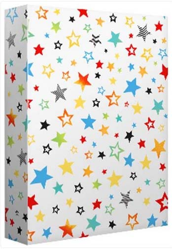 Rainbow Stars - Wrapping paper