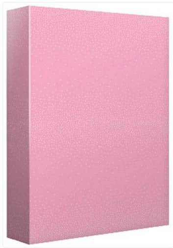 Shimmer Dots Pink- Wrapping paper