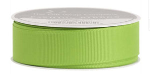 Lime Grosgrain Ribbon