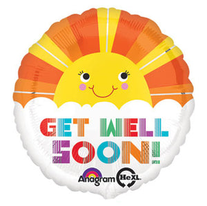 Get Well Soon - Smiley sunshine