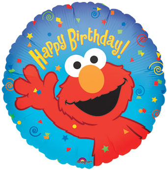 Happy Birthday - Elmo