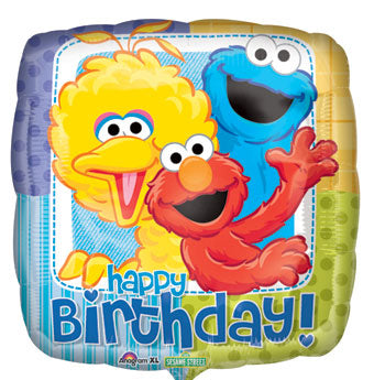Happy Birthday - Sesame Street