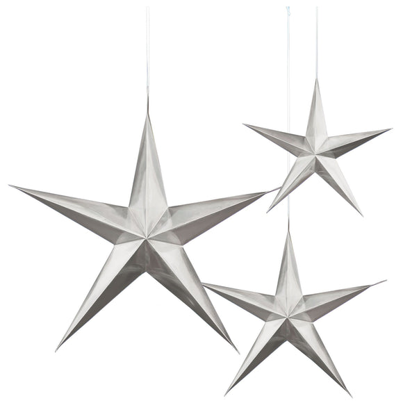 Paper Silver Star