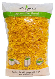 Yellow - Decorative Paper Shred