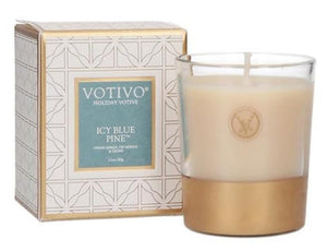 Icy Blue Pine Travel Jar by Votivo