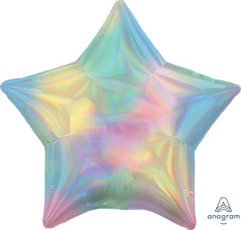 Iridescent Pastel Star
