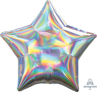 Iridescent Silver Star