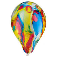 Marble- Latex balloon