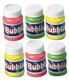 Mini party bubbles