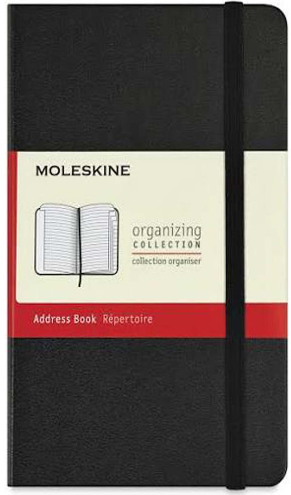 Classic Medium Notebook - Adress Book