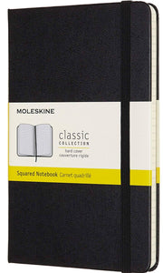Black Squared Notebook Hard Cover