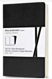 Moleskine Volant Plain Notebooks