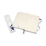 Saphire Blue Plain Notebook Hard Cover