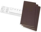 Cahier Squared Journals Soft Cover - Set of 3