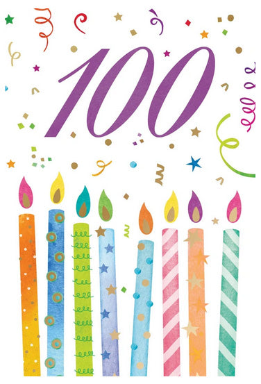 Birthday No. 100