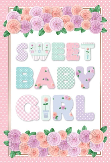 Congratulations - New baby girl