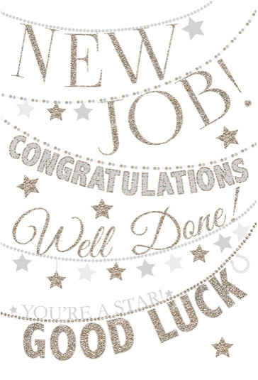 Congratulations - New Job