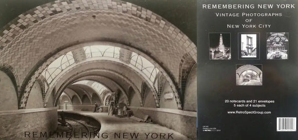 Remembering New York - Blank boxed notes
