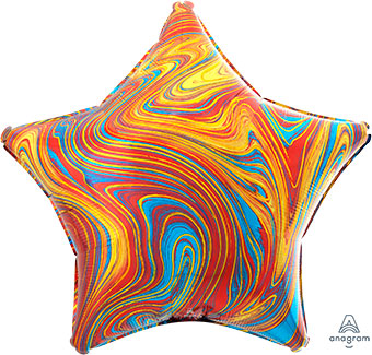 Marblez Multi Colorful Star