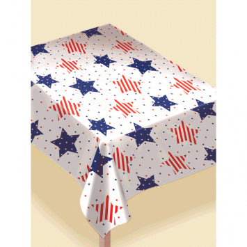 Stars Patriotic Table Cover