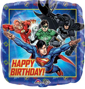 Happy Birthday - Justice League