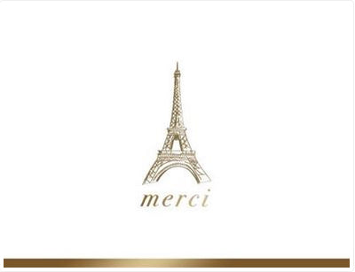 Merci - Thank you boxed notes