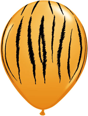 Tiger stripes - Latex balloon