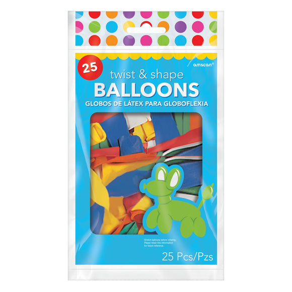 Twist and Shape Balloons