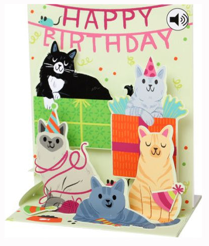 Birthday - Sound Pop up card
