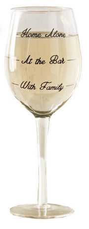 Wine Not? Wine Glass - Home Alone