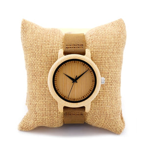 BOBO BIRD Timepieces Bamboo Couples Watches