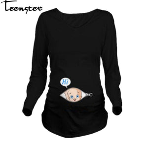 Autumn Long Sleeve Maternity Clothes