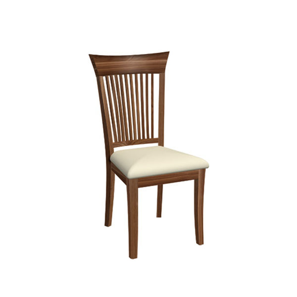 Dinec 0020 Walnut Dining Chair