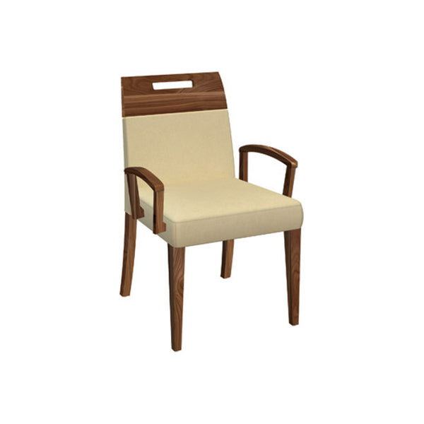 Dinec 0531 Walnut Dining Chair