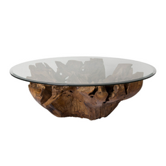 Riverside Round Root Coffee Table