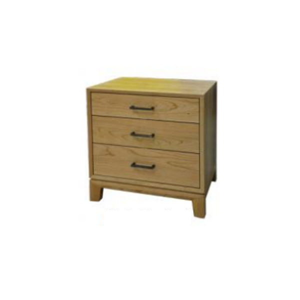 Weston 3 Drawer Nightstand