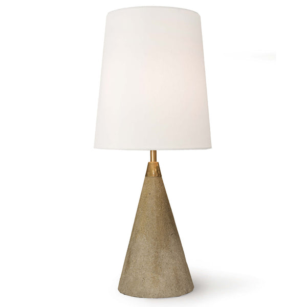 Regina Andrew Concrete Cone Table Lamp