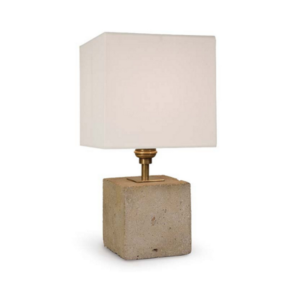 Regina Andrew Concrete Cube Table Lamp