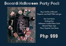 Load image into Gallery viewer, Bacardi Halloween Pack