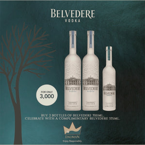 Belvedere Vodka 700ml Promo